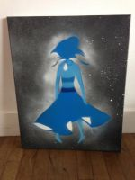 Spray paint Lapis by Parrofinch