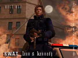 S.W.A.T. Leon Kennedy by DamianHandy
