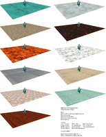 MMD Floor Pack DL (100 Watchers Special) by ChestNutScoop