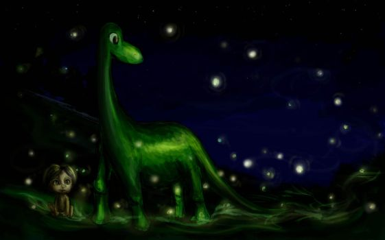 The Good Dinosaur by SeraphinaDawn
