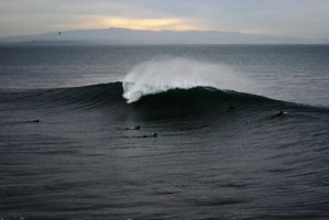 Main Peak Steamer Lane 122609 by MagicSean