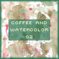Coffee and watercolor 02 by FancyOctopusResource