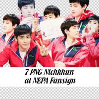 7 PNG Nichkhun at NEPA Fansign by BHottest