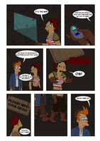 Futurama - Tales of Meatbag Island - PAGE 29 by Spider-Matt