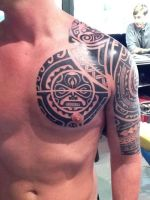 Polynesian by state-of-art-tattoo