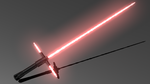 Kylo Ren Lightsaber Ignited by adrian1997