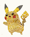 Typography Chu, I Choose You by Anti-puff