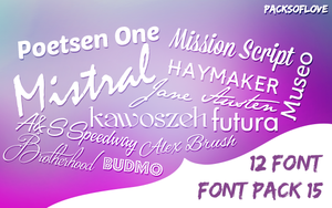 FONT Pack (3) by IremAkbas