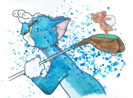 Tom and Jerry Golf by LukeFielding