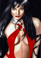 Vampirella Sketch Card 5 by Dr-Horrible