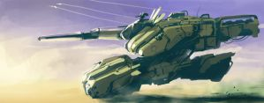 hovering-tank by dasAdam