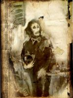 clown without color by kanadam