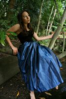 Blue dress 2 by 212Stock