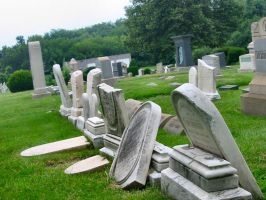 Silver-Stock: Cemetery Ruins 1 by silver-stock