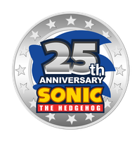 Sonic 25th Anniversary Logo ( Second Version ) by NuryRush