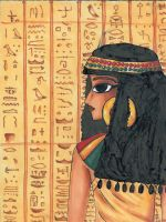 Egyptian beauty by palmcastle