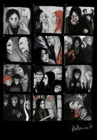 12 pictures from Snape s life by Hellanim