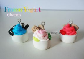 Frozen Yogurt Charms by LitsaHut