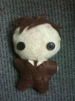 10th Doctor Plushie by CheesyHipster