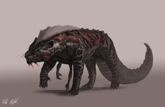 Creature concept2 by PeterPrime