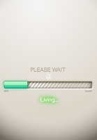 Please Wait: Living by IIIustrathor