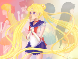 Sailor Moon by hiyoK0