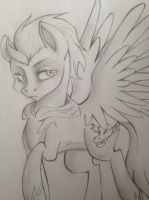 Lightning Dust as the newest Shadowbolt by KaleidoscopeHeavens