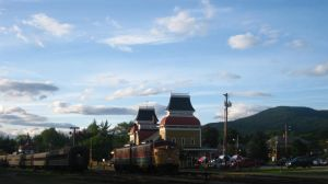 Station and Sky by st112570