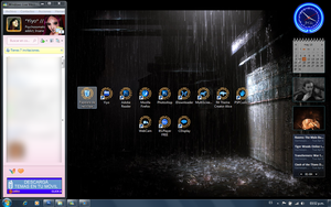 Heavy Rain Custom Desktop by Yiyo--Chan