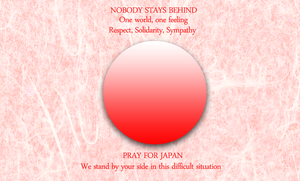 Sympathy with Japan by RavenousUchiha