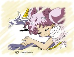 Chibiusa and Helios by Wintu