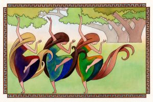 Dance Of The Three Graces
