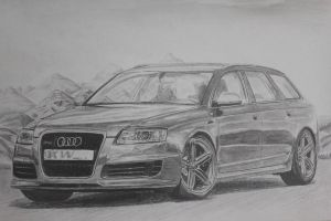 Audi RS6 KW Finished by daharid