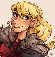 Astrid from HTTYD2 by Dreamsoffools