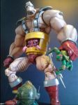 Krang in Android Body by FigureHunterCustoms
