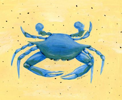 Blue Crab by GreenChikin