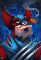 The Big Bad Weasel by Jay--Zilla