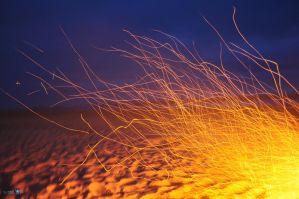 Beachy Embers by Moohoodles