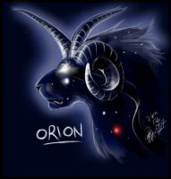 Orion Head by ArtistMaz