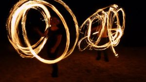 Fire Twirling Again by NaturalBeauty-Photos