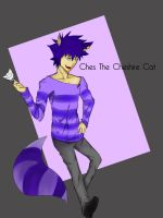 Ches The Cheshire Cat Character Design by trinaxfantasy