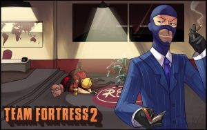 TF2 - The Spy by Uberzers
