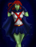 YJ: Miss Martian by AlvinDraper