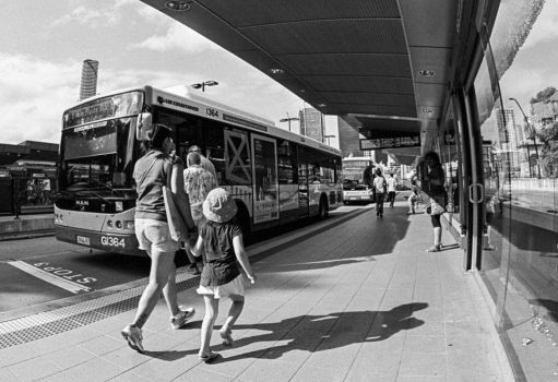 Bus Station 2 by strictfunctor