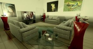 My Living Room 2 by DaveDrumstick