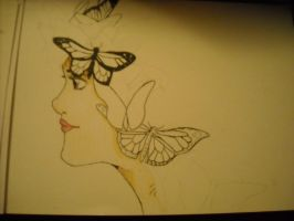 Queen of Monarchs (W.I.P) by InsomniaSquared