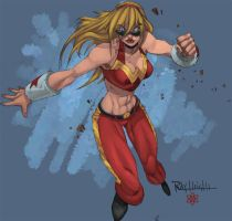 Wonder Girl YSR Collab by RAHeight2002-2012