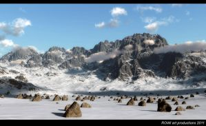 one thousand boulders by 3DLandscapeArtist