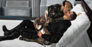Mass Effect: Kisses Full of Passion by Aceaviator