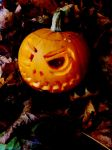 autumn jack o lantern by IamNasher
